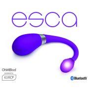 Kiiroo - OhMiBod Esca Teledildonikus Virtuális Okosvibrátor Lila